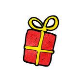 Noel hediyesi — Stok Vektör