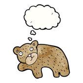 Funny bear — Stock Vector