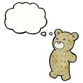 Cute teddy bear — Stockvektor