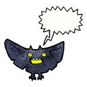 Spooky vleermuis — Stockvector