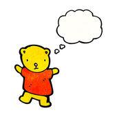 Teddy bear — Stock Vector