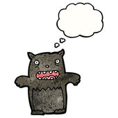 Czarny kot — Wektor stockowy