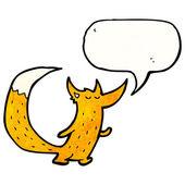 可爱机灵的狐狸 — 图库矢量图片