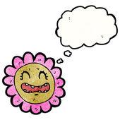 Kwiat twarz — Wektor stockowy