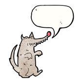 Wolf praten — Stockvector