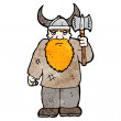 Stock Vector: Viking
