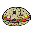 Hamburger — Stock Vector #21395563