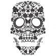 Day of the dead skull pattern — Stock Vector #21399075