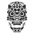 Day of the dead skull pattern — Stock Vector #21399077