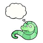 Serpent drôle — Vecteur