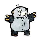 Robot shouting — Stock Vector