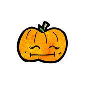 Zucca zucca felice — Vettoriale Stock