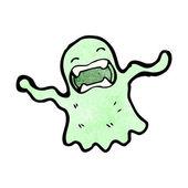 Spooky ghost — Cтоковый вектор