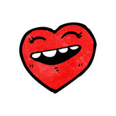 Laughing heart — Stock Vector