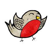 Funny robin — Stock Vector