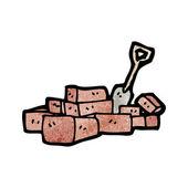 Building bricks — Stockvektor