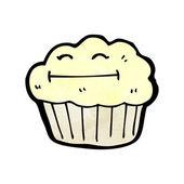 Happy muffin — Vecteur