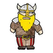 Rozzlobený viking — Stock vektor