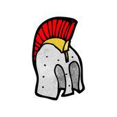 Casque Trojan — Vecteur