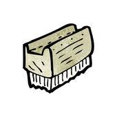 Tırnak fırçası — Stok Vektör