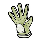 Gardening glove — Stock Vector