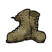 古いブーツ — Stock vektor