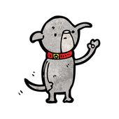Malý pes — Stock vektor