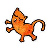 Funny cat — Cтоковый вектор