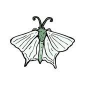 Mariposa — Vector de stock