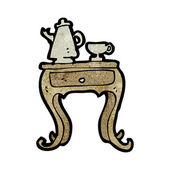 Coffee table — Cтоковый вектор