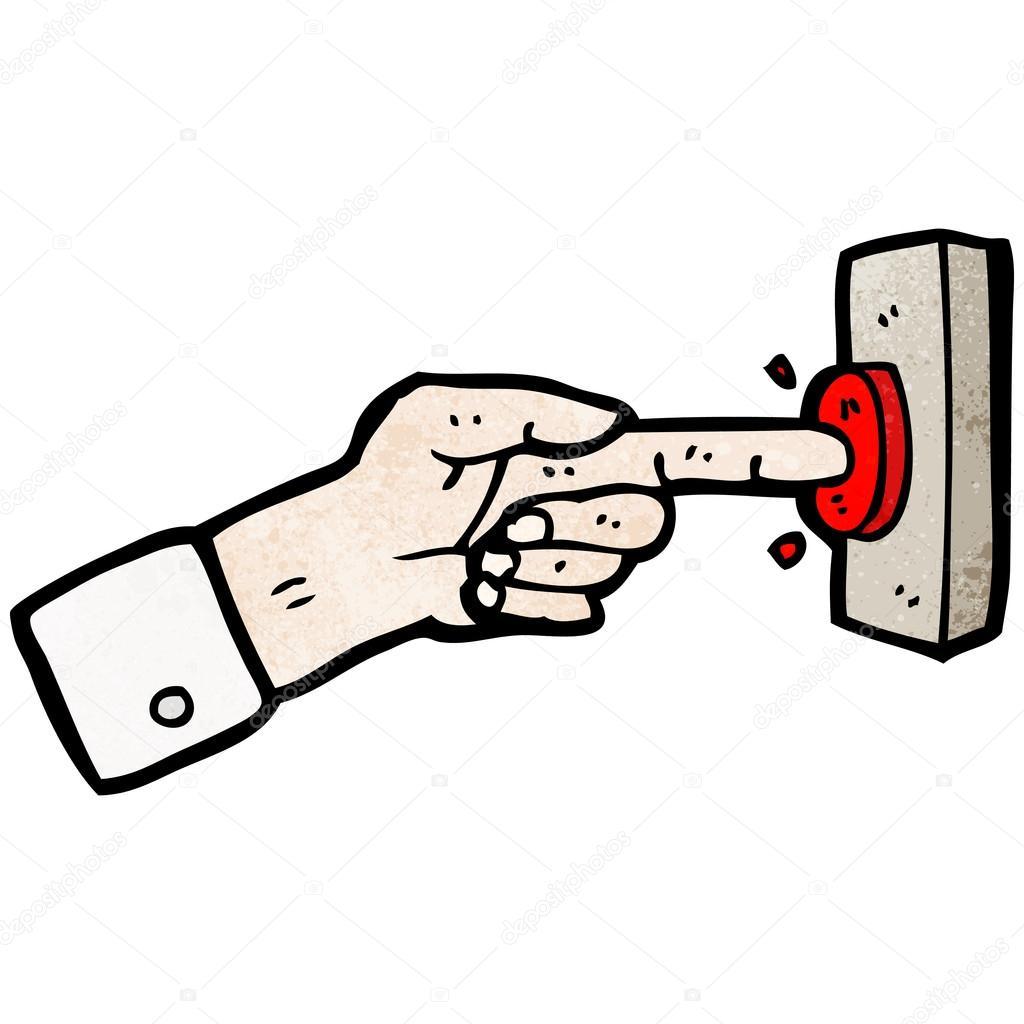 Рисунок на дверь кнопками