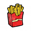 Stock Vector: Fast food