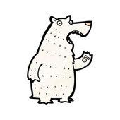 Orso polare — Vettoriale Stock