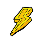 Lightning bolt — Stock Vector