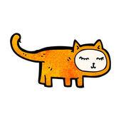 Gracioso gato — Vector de stock