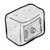 Cartone animato sicuro combinazione bloccata — Vettoriale Stock