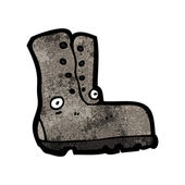 Old boot — Stock Vector