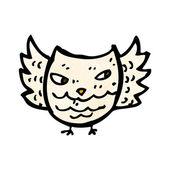Little owl — Stockvektor