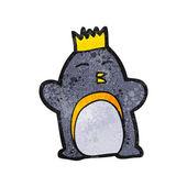 Emperor penguin — Stock Vector