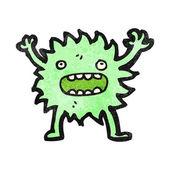 Futrzany mały potwór — Wektor stockowy