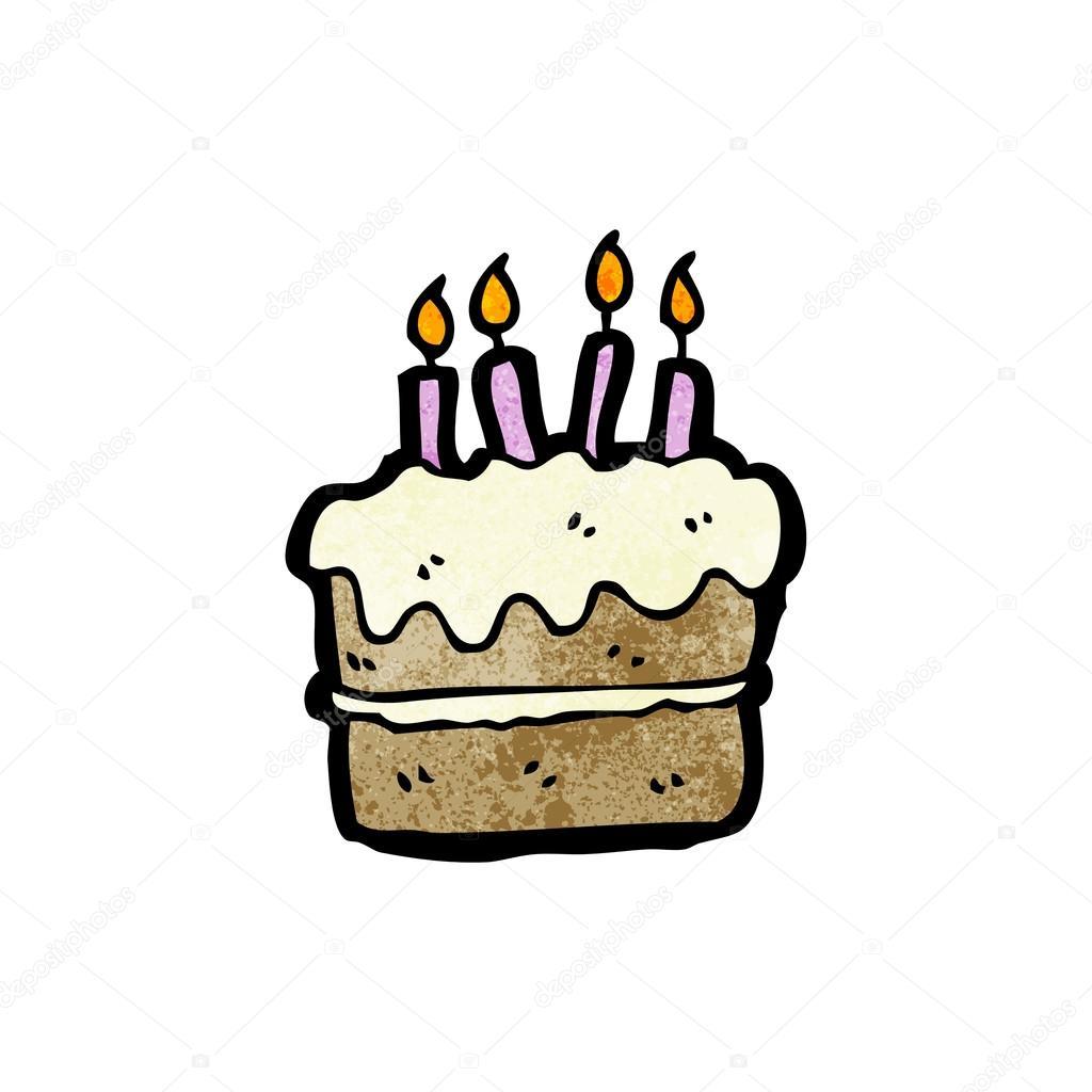 Birthday Cartoon Cake Images