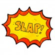 Stock Vector: Slap
