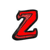 Alfabet z — Stockvector