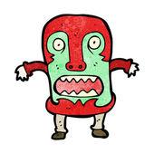 Uomo maschera terrificante — Vettoriale Stock