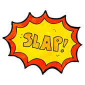 Slap — Stock Vector