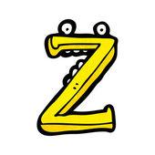 мультфильм письмо z — Cтоковый вектор