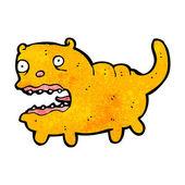 醜い太った猫漫画 — ストックベクタ