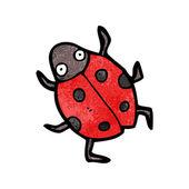 Red Ladybug Beetle — Stock Vector