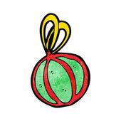 Ornamento de clipart Navidad adorno — Vector de stock