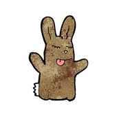 Cartoon bunny rabbit — Stock Vector